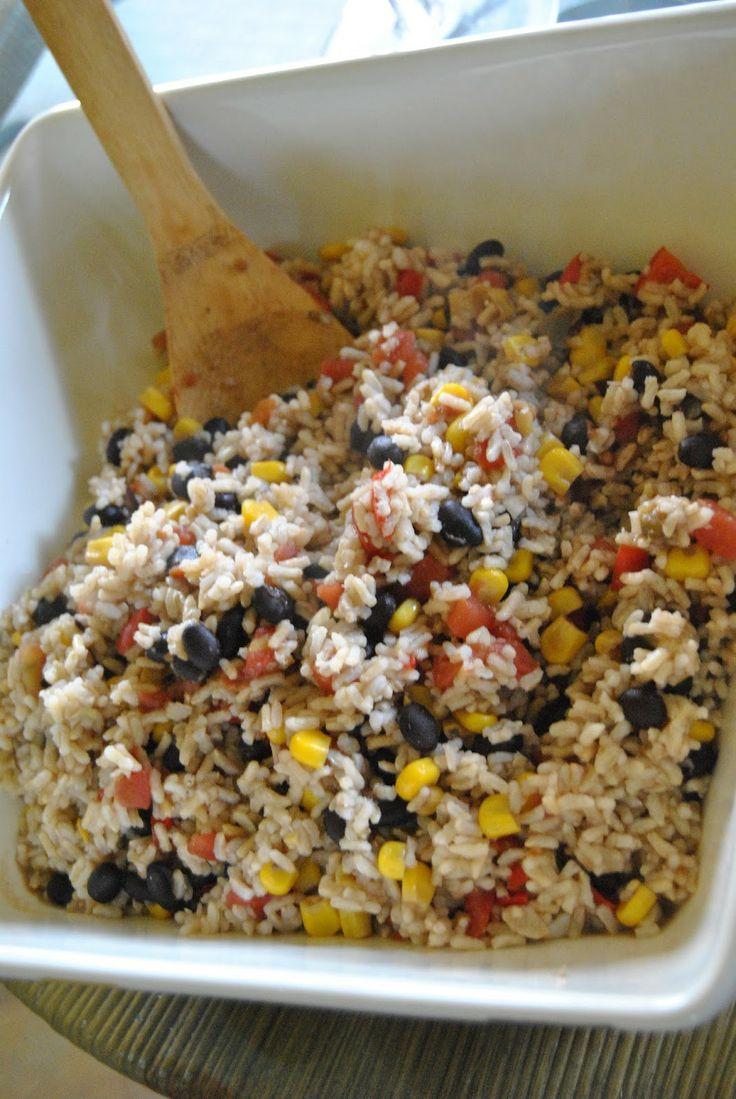 Mexican Confetti Rice | recipes | Pinterest