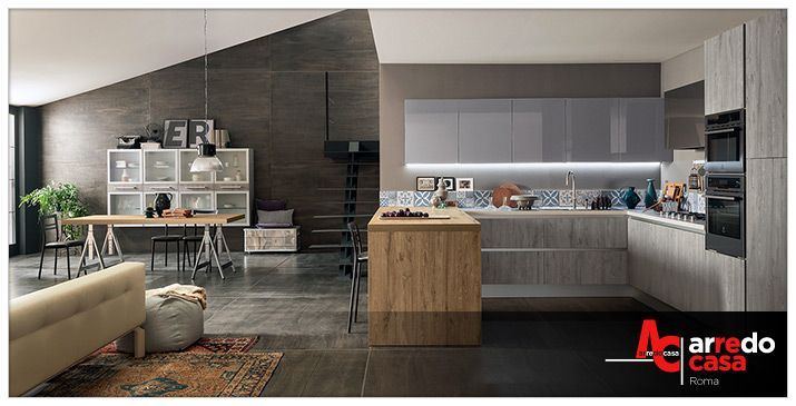 Industrial Style in Cucina