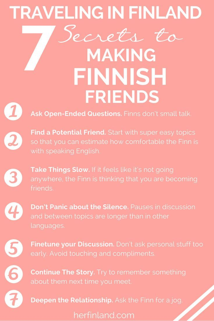 How to make Finnish friends while in Finland. Whether your traveling in Finland or living in Finland, this simple guide is perfect for you to learn all about how to build a friendship with a Finn! #MakingFriends #Finland #Culture #PeopleSkills