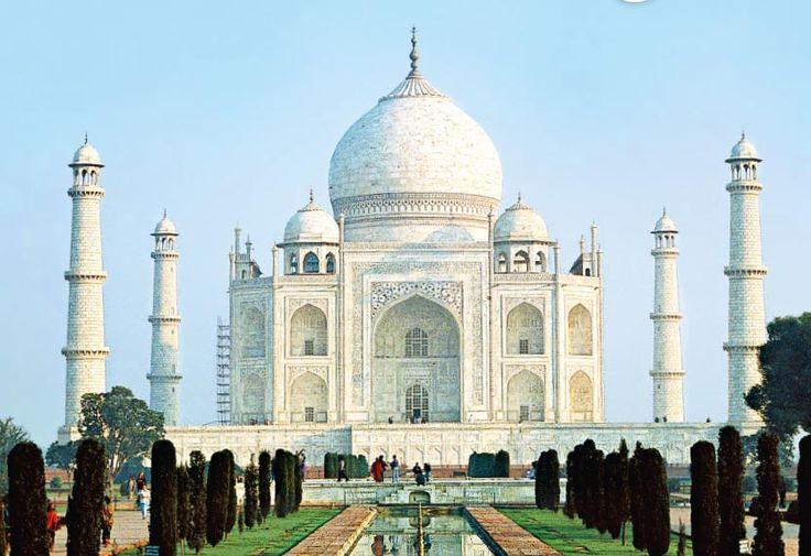 Taj Mahal, http://loma.finnmatkat.fi/intia-kaikilla-aisteilla/ #Finnmatkat