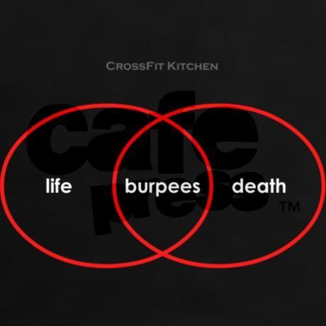 Hahahahahhaha oh #burpees... #CrossFit #KippingItReal http://kippingitreal.com