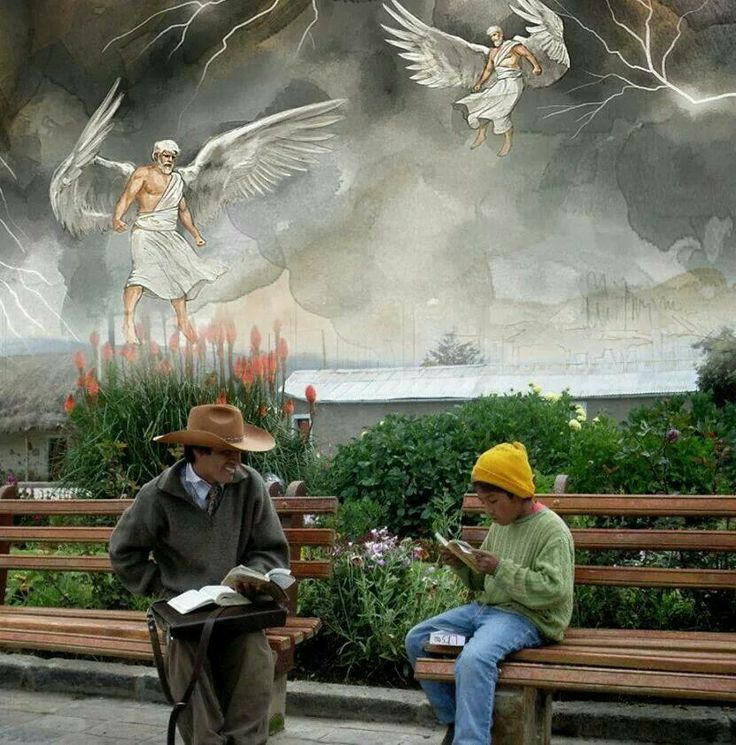 Love this...we need to always remember the angels are sent to help us...