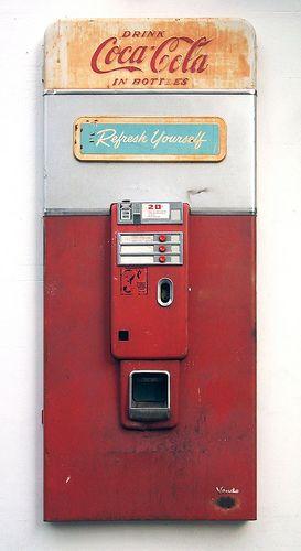 Coke Vending Machine Facade