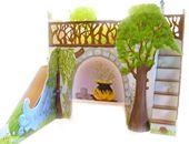 Kinderzimmer und Babyzimmer Dekorationen wie Lampen, Bilder Kunstpostkarten