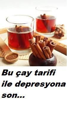 depresyon için çay tarifi