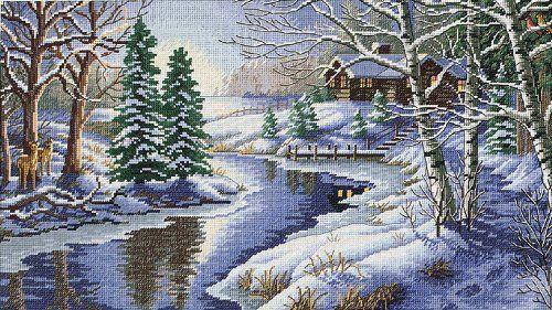 Cabin Cross Stitch Patterns