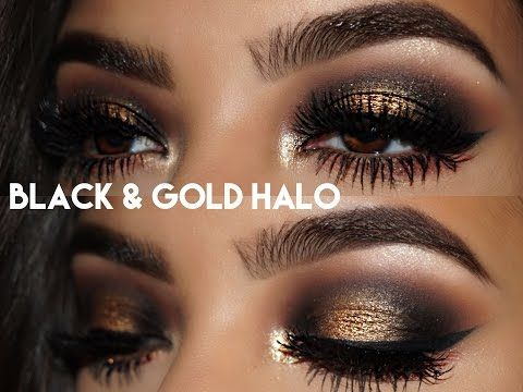 NEW YEARS MAKEUP TUTORIAL! || Huda Beauty Rose Gold Palette - YouTube