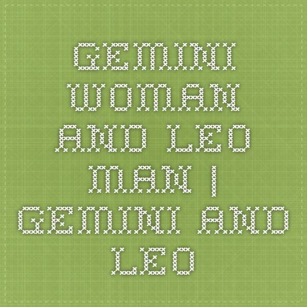 Dating a leo woman gemini man
