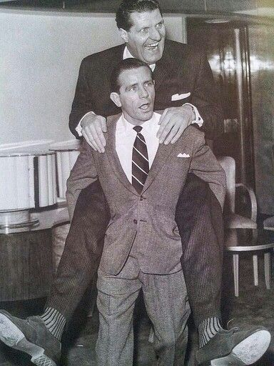 Sir Norman Wisdom & Tommy Cooper