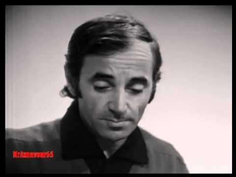 Charles Aznavour chante Love me, please love me avec Michel Polnareff 1967