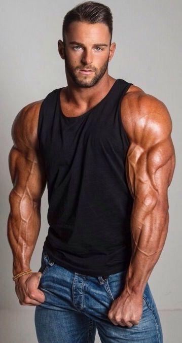 Amazing gunz – muscled studly, Eric Janicki …