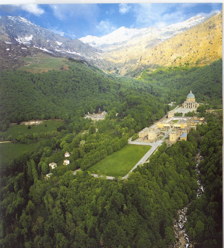 Sanctuary of Oropa, Biella, Italy. LOVE this place. It's my grandmother's favorite place to take us. They make the best polenta in the restaurants up there!