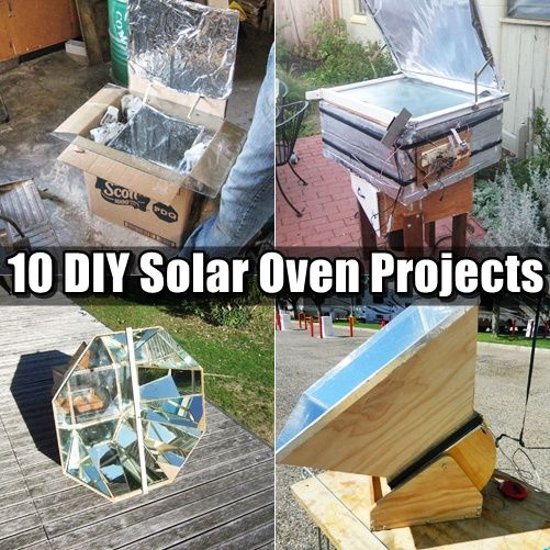 how to make a solar overn