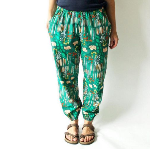 Luna Pants Sewing Pattern PDF
