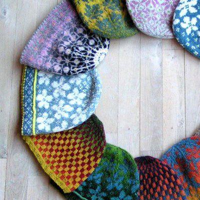 Fair Isle Hat Pattern | Ruth Sorensen Nordic Hats Knitting Pattern