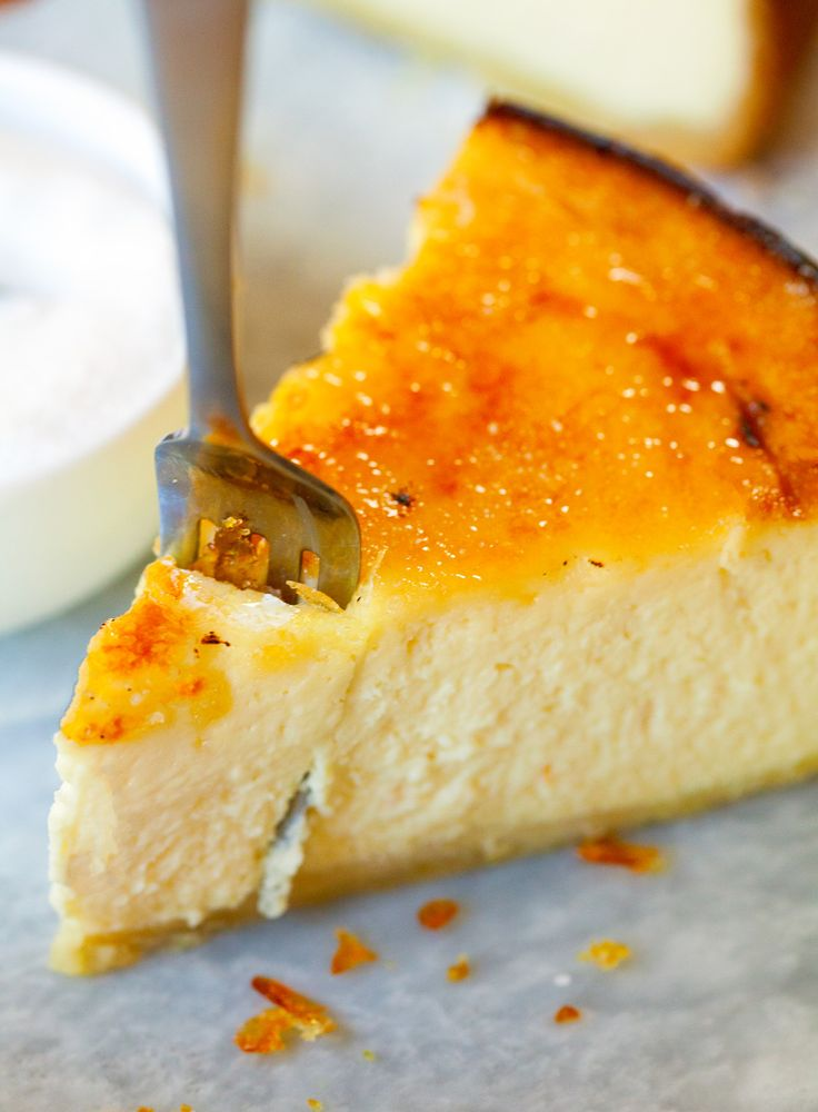 Brûléed NYC Cheesecake - This is the ultimate New York Cheesecake recipe. Look no further - you will fall head over heels for this recipe!
