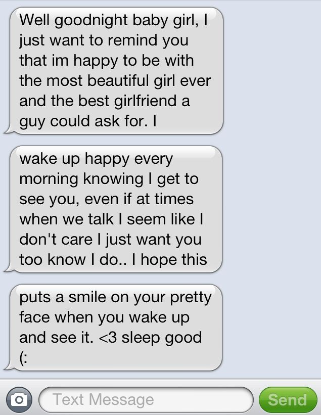 Good morning text messages to send to your girlfriend