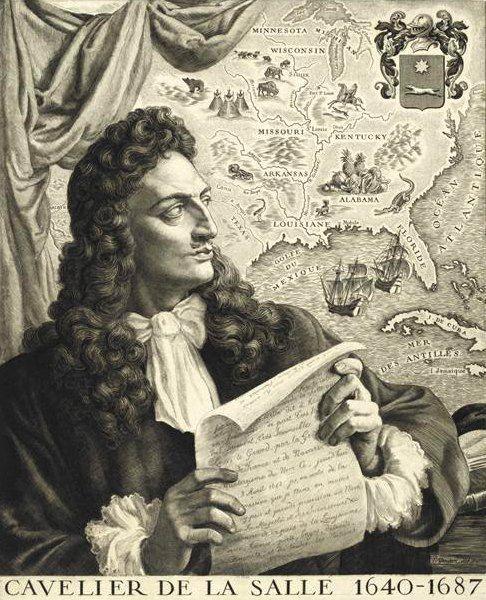 robert cavelier de la salle an early french explorer of