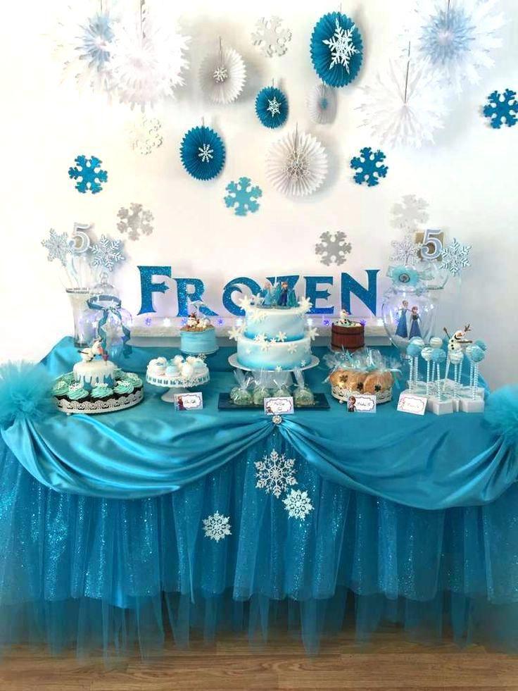 Frozen Birthday Party Cake Ideas Fancy Decoration Themed