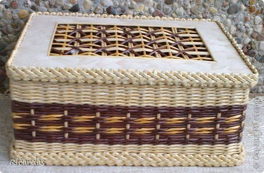 Artesanato produto Scourge Papel de jornal Papel Papelão Weave Tubes Foto 9