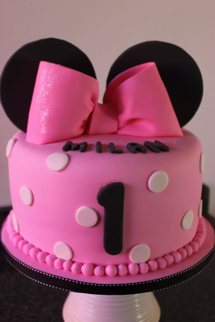 Minni Mouse for little girl!