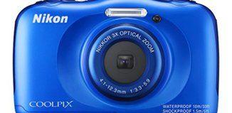 Best Waterproof Digital Camera Nikon COOLPIX S33 (Blue)