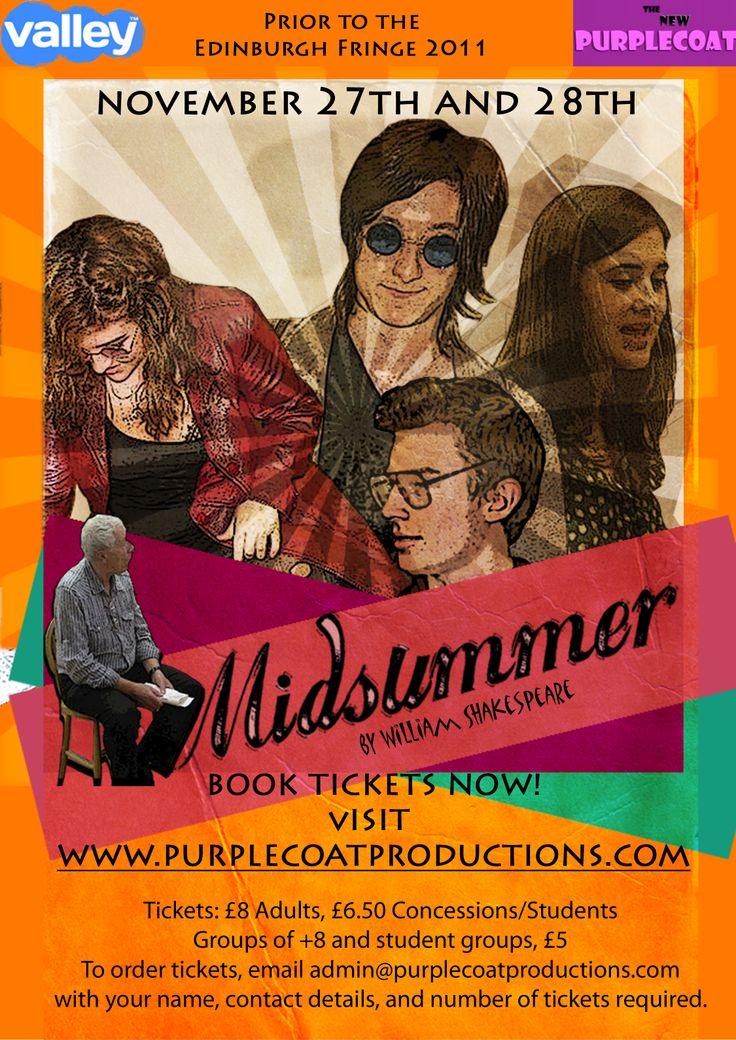 The original flyer design for Midsummer.