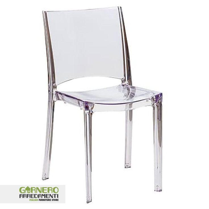 34 best sedie trasparenti in policarbonato images on for Sedia ufficio trasparente