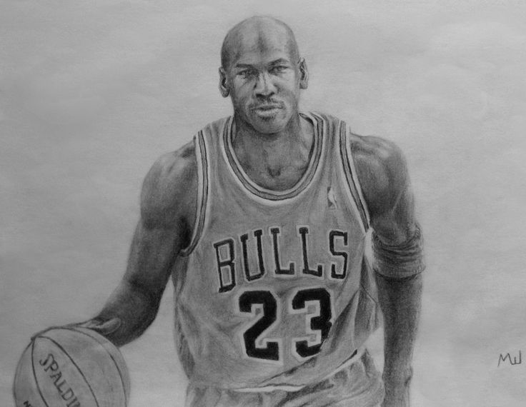 Image Result For Draw Michael Jordan Sports Pencil