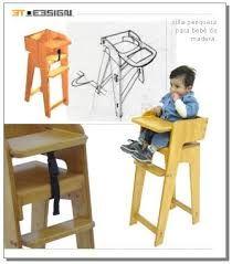 「silla de comer de madera para bebe」的圖片搜尋結果