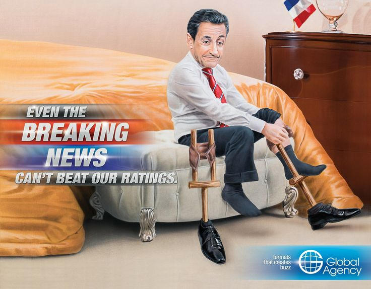Creative Ads: Breaking News - Global Agency - Marketing Overview