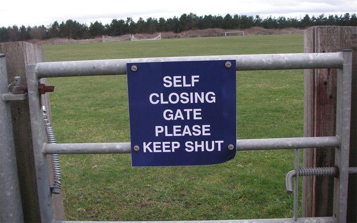 Self Close Gate?