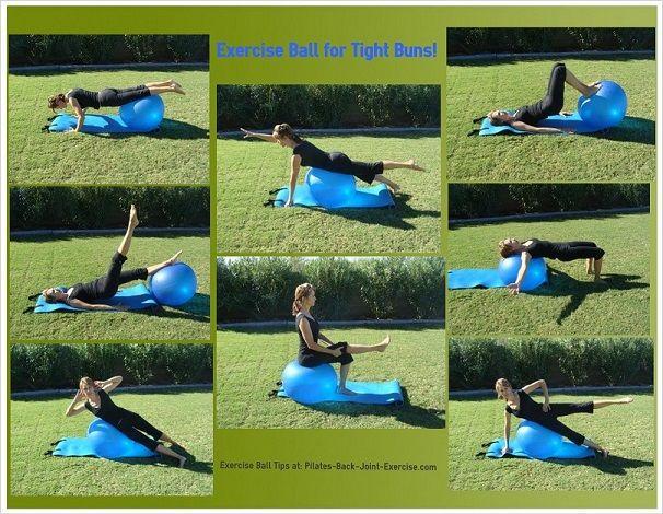 Ball Exercise for Tight Buns!