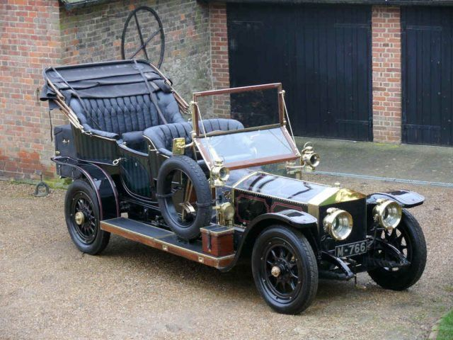 1909 Rolls Royce Silver Ghost Tourer with Roi-des-belges style coachwork. Delivered via L.C Seligmann to R.A Munn, a civil engineer and marine Superintende