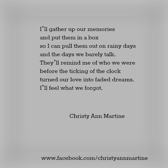 What We Forgot Poem – Poems – Poetry – Quotes by Christy Ann Martine #sad #quote…