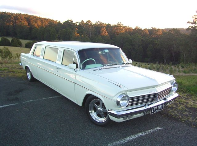 1960's EH Holden Limo and Sedan, this was my wedding car . Love it .