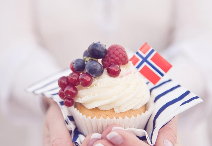 17. mai cupcakes Norwegian National Day