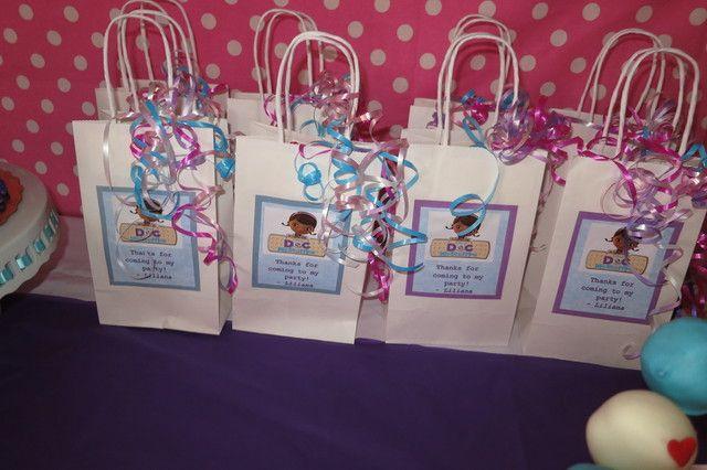 Doc Mcstuffins Party Bags Trend Bags