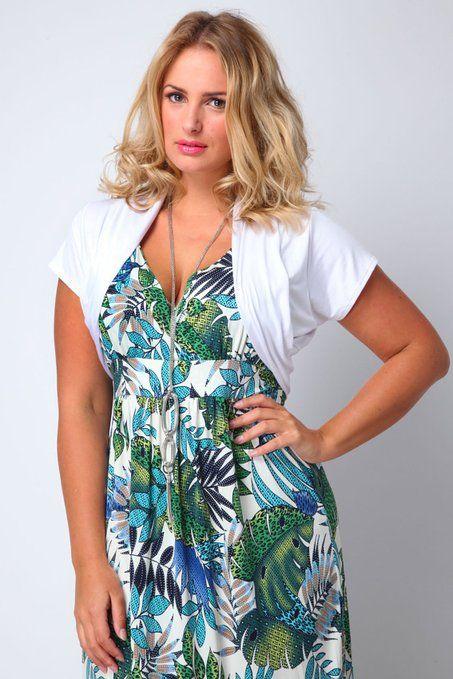 Yoursclothing Womens Plus Size Jersey Shrug With Cap Sleeves: Amazon.co.uk: Clothing