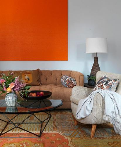 Die besten 25+ Orange wohnzimmerfarbe Ideen auf Pinterest - wohnzimmer orange beige