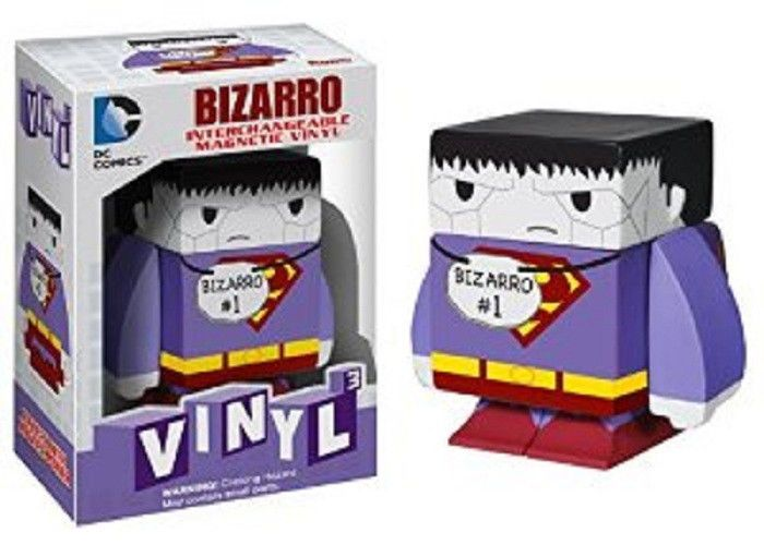 Funko Heroes DC Comics Bizarro Cubed Interchangeable Magnetic Vinyl Figure NEW  #FUNKO