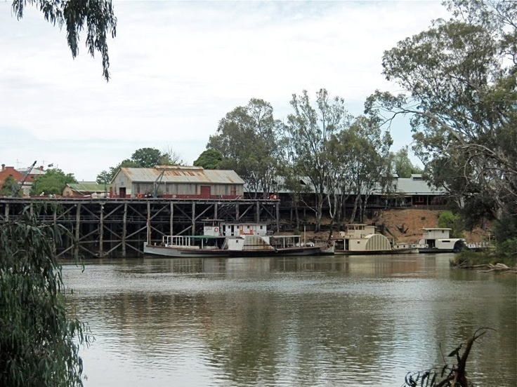 Old Docks, Echuca, Victoria