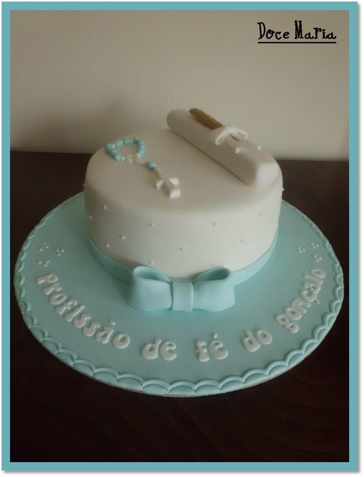 Profession of Faith Cake