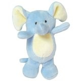 Green Sprouts Velour Rattle Toy Elephant 1 Toy