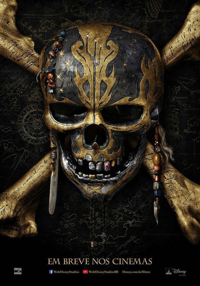 Em breve nos cinemas – Previsão para Maio de 2017 O capitão Salazar (Javier Bardem) é a nova pedra no sapato do capitão Jack Sparrow (Johnny Depp). Ele lidera um exército de piratas fantasmas…