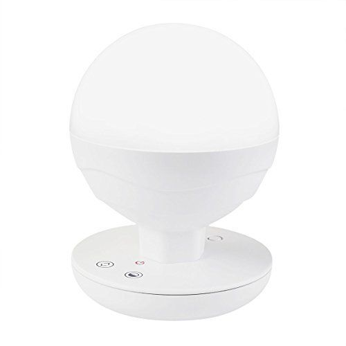 Upgraded Version Idealeben Childrens LED Bedside Lamp Dimming Touch Night Light  Reading Lights  Camping Lamp SphericalWhite WarmwhiteBuiltin 2200mAh Battery -- Read more  at the image link.
