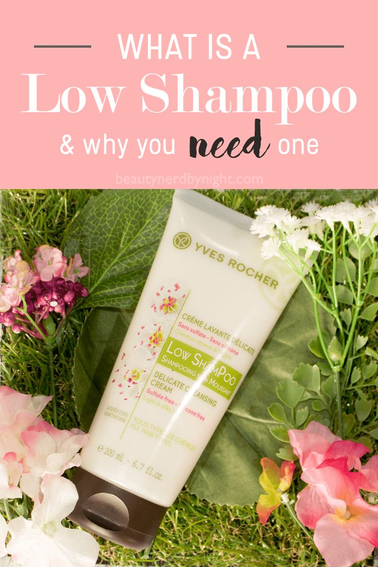 If you have dry scalp, oily roots, dandruff, dry hair, or hair loss; try a low shampoo! What is a low shampoo, and how does it help? Click through to find out!