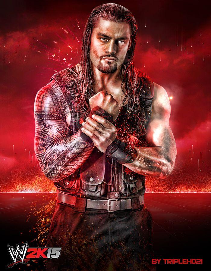 Roman Reigns WWE 2K15 by Tripleh021.deviantart.com on @DeviantArt