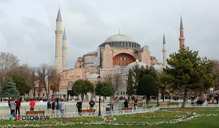 Blekitny Meczet Sultan Ahmet Camii