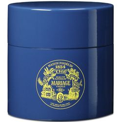 Mariage Freres Tea Party » Blue lacquered canister